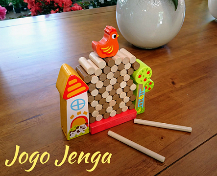 Jogo Jenga, da Tooky Toy - Cód. TKC-572