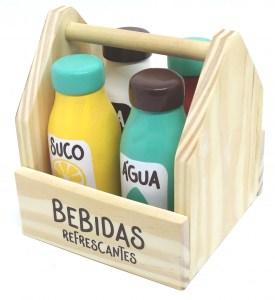 Kit de Bebidas Refrescantes da Coleção Comidinhas da NewArt - Cód. 378