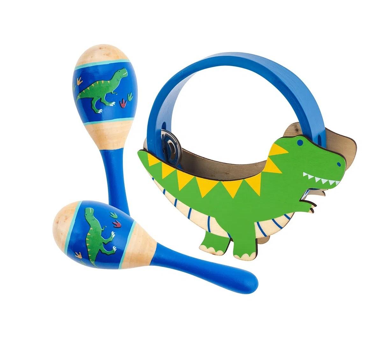Kit de Percussão Dino, da Stephen Joseph - Cód. BB3147