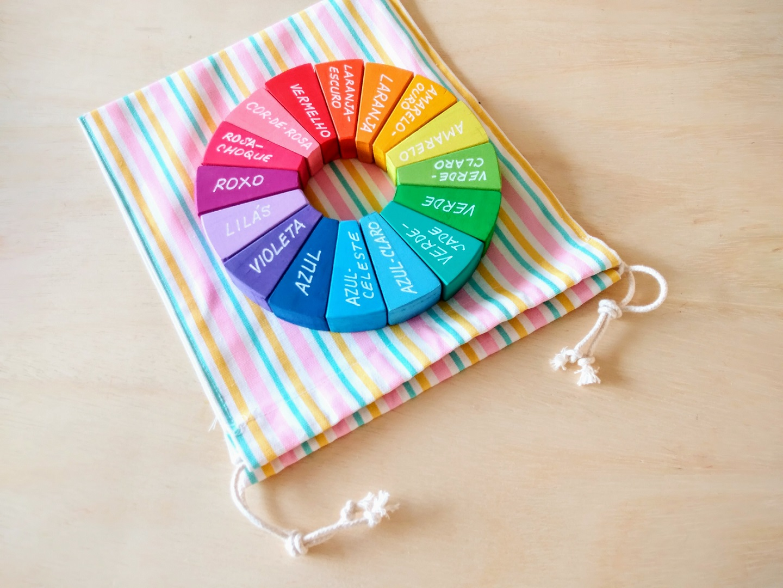 Kit Decorativo ou para Educadores - Arco-Íris Diferente 4 (duplo), Cód. PP-016
