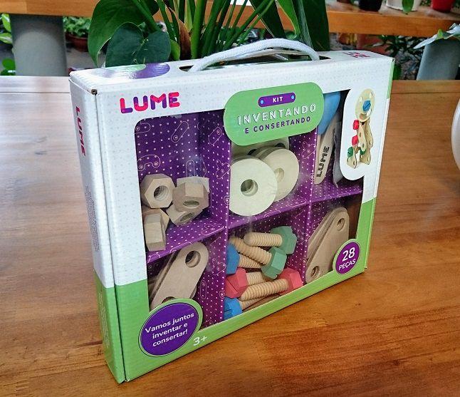 Kit Inventando e Consertando, da Lume - Cód. LM-11