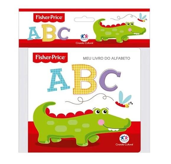 Kit Livro + Brinquedo, da Fisher-Price - Cód. BR984 + LP012