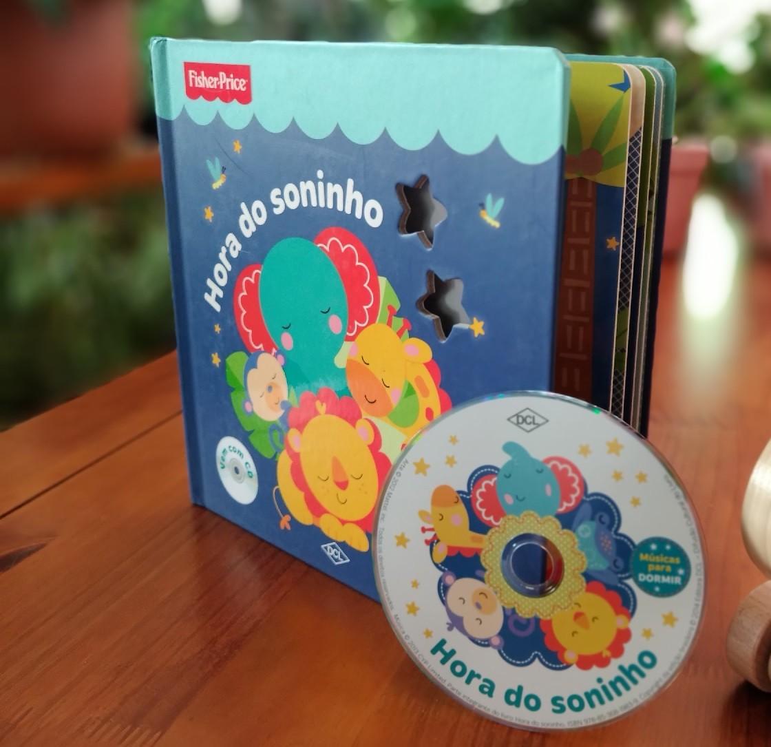 Kit Livro + Brinquedo, da Fisher-Price - Cód. BR986 + LP004