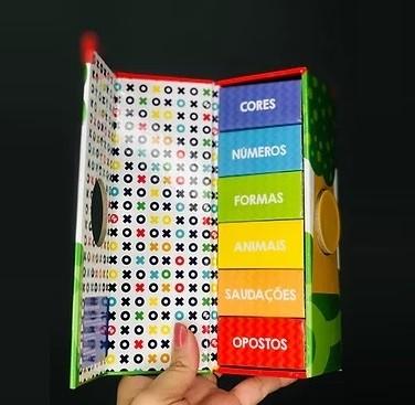 Kit Minha Pequena Biblioteca + Carrinho de Madeira Zebra, da Fisher Price - Cód. BR986 + LP002