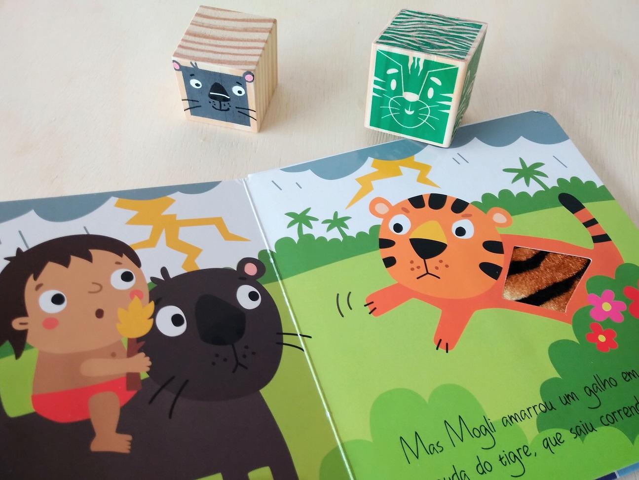 Kit Mogli para Educadores - 1 Livro + 6 Cubos ULLA + 3 Personalizados - Cód. KBL10