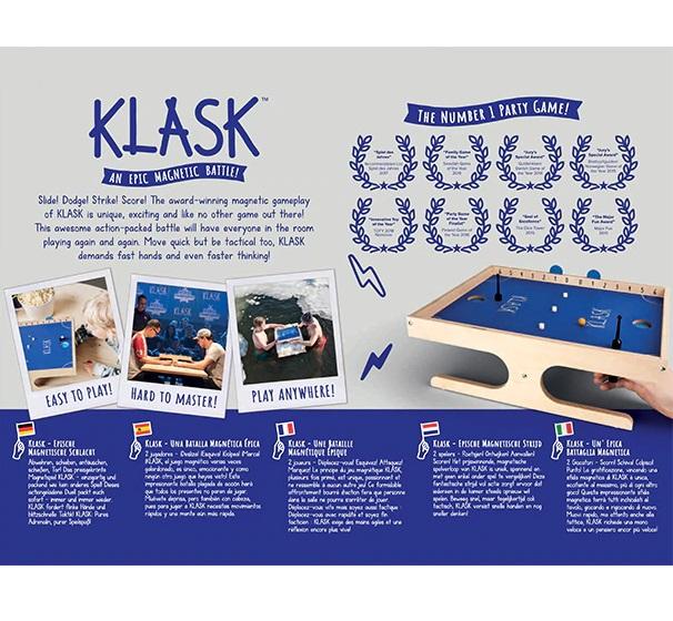 Klask, da Galápagos Jogos - Cód. KLK001