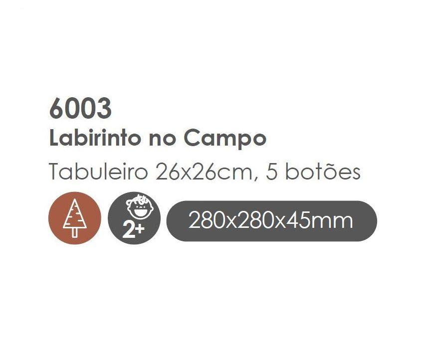 Labirinto no Campo, da BaBeBi - Cód. 6003