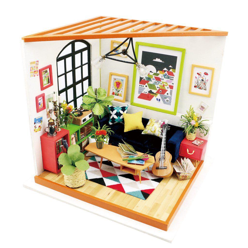 Maquete DIY de Sala de Estar, da Rôbôtime - Cód. DG106