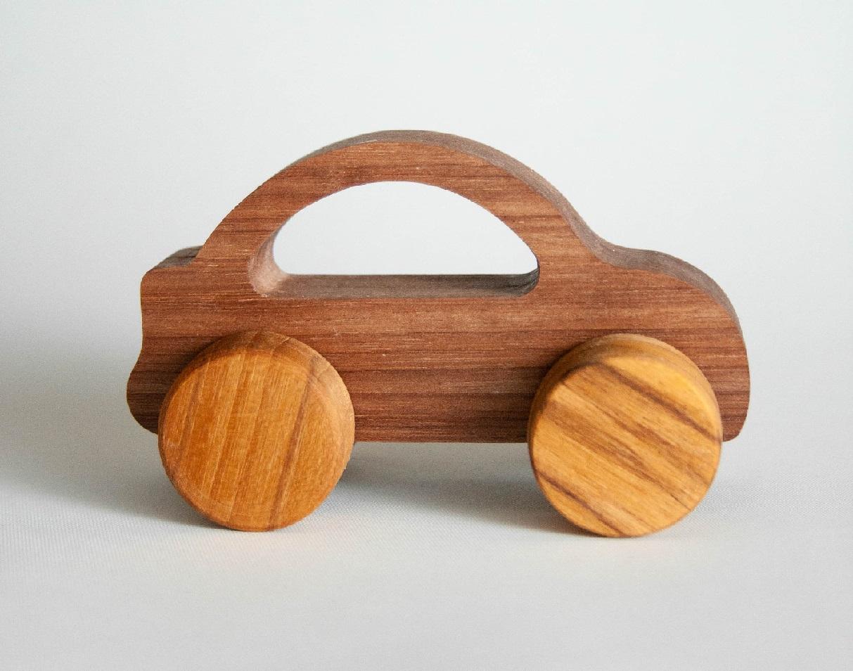 Mini Transporte Sport, Carrinho de Madeira, da Pachu - Cód. P-37