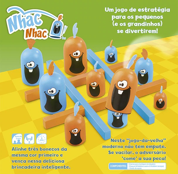 Nhac Nhac, de Madeira, da Galápagos Jogos - Cód. NHA001
