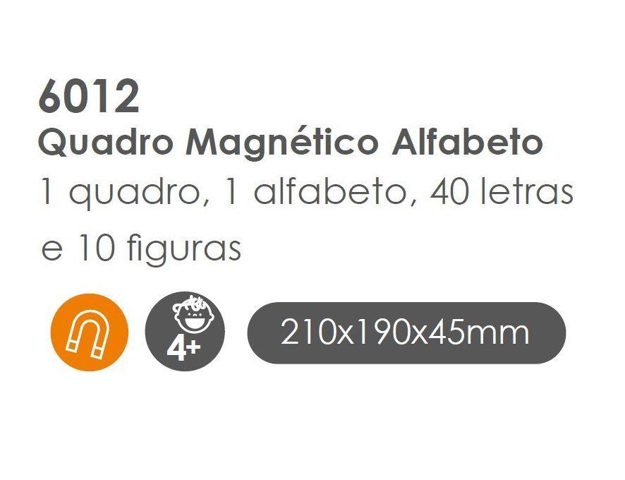 Quadro Magnético Alfabeto, da BaBeBi - Cód. 6012