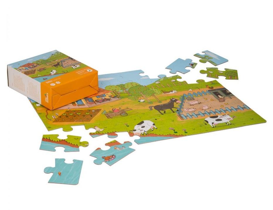 Quebra-Cabeça de chão (gigante) - Sítio, da Araquarela - Cód. ARA-QC007