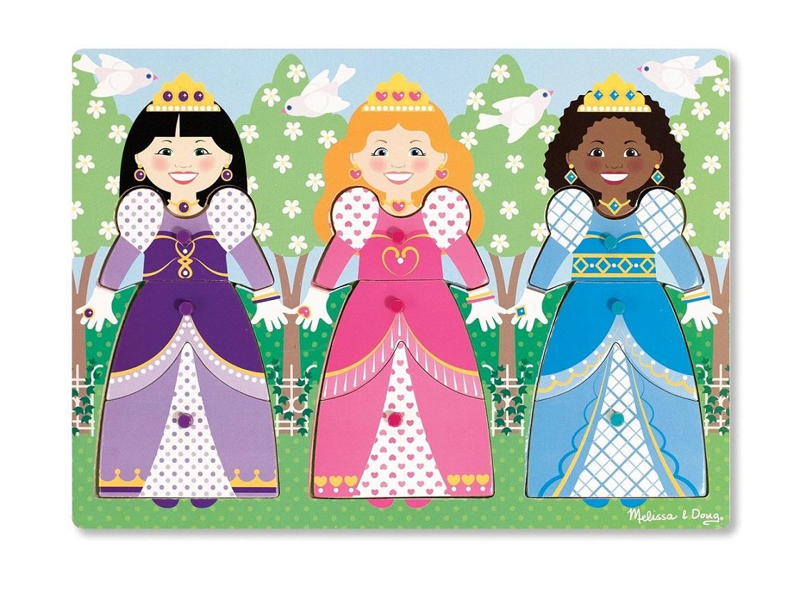 Quebra-Cabeça de Encaixe - Princesas, da Melissa e Doug - Cód. 19056