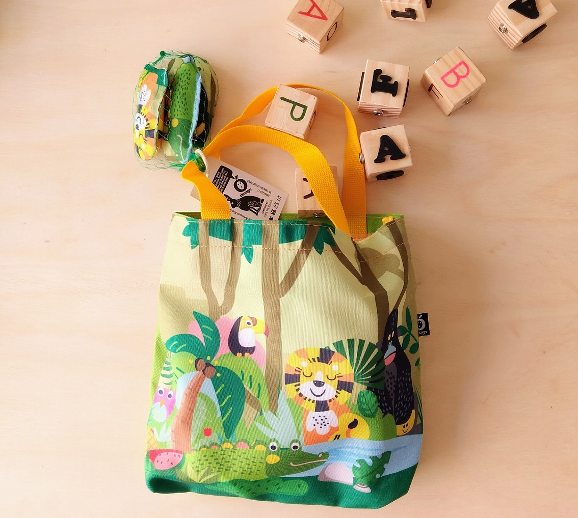 Toy Bag Animais da Floresta, da Ó Design - Cód. OD-TBAF