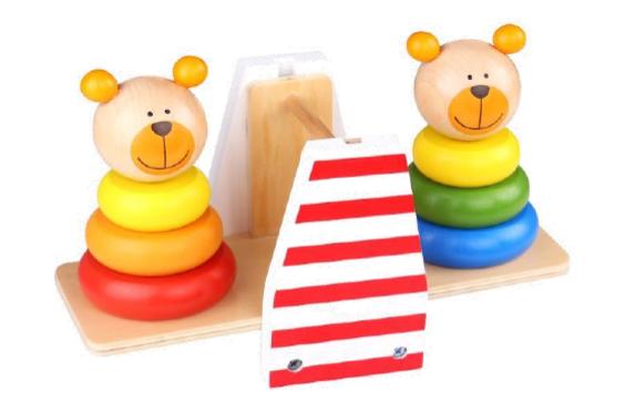 Ursinhos de Equilíbrio, da Tooky Toy - Cód. TKB-499