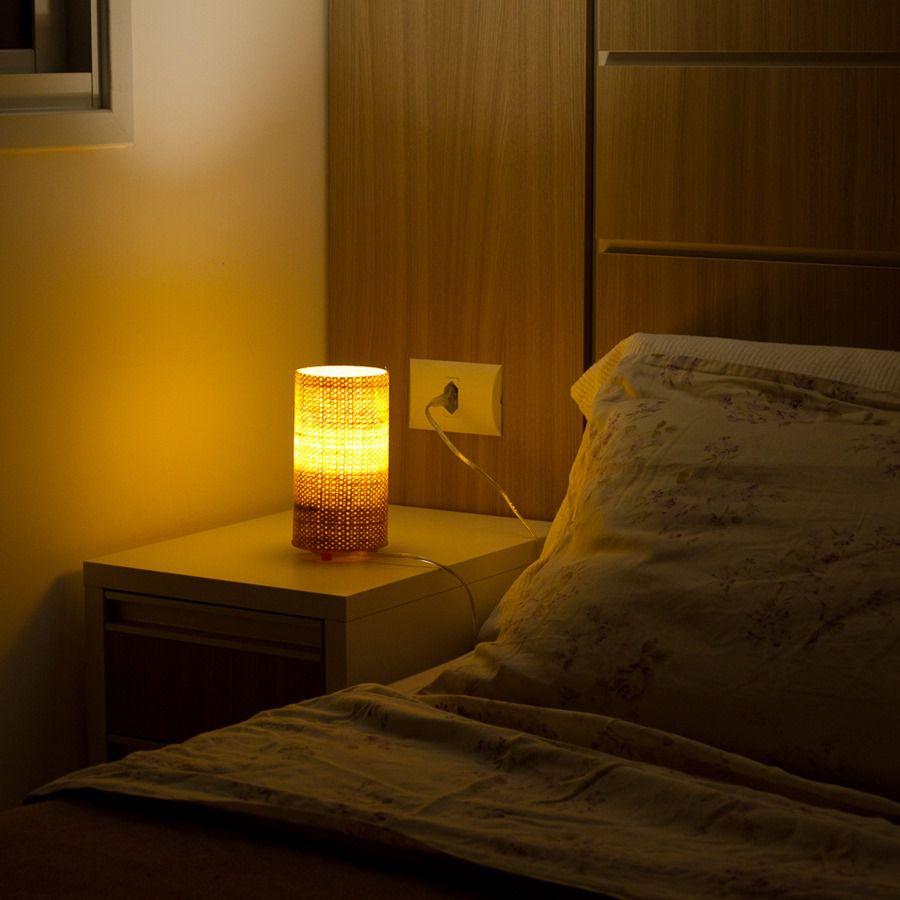 Luminária de Mesa Mini Natural
