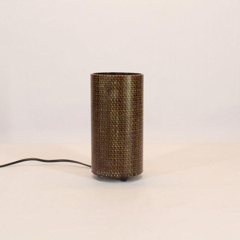 Luminária de Mesa Mini Marrom