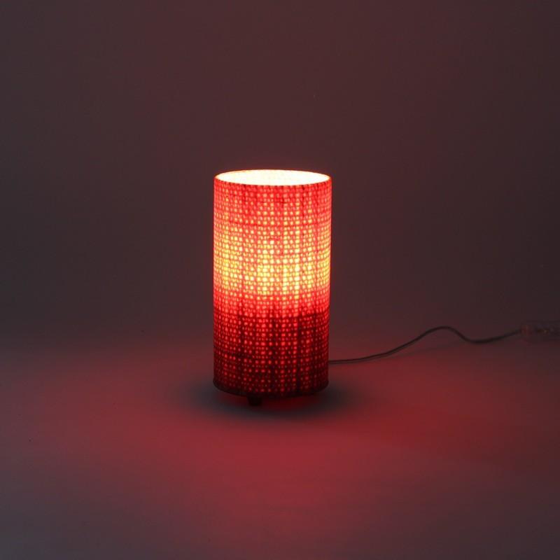 Luminária de Mesa Mini Vermelha
