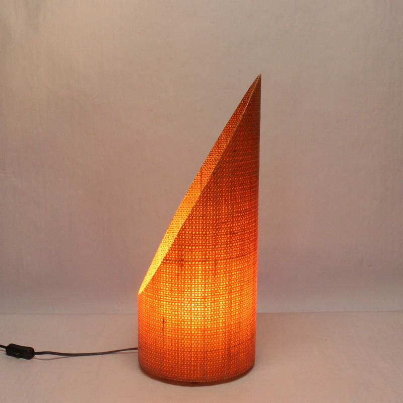 Luminária de Mesa ou Piso Oblique Grande Papaya