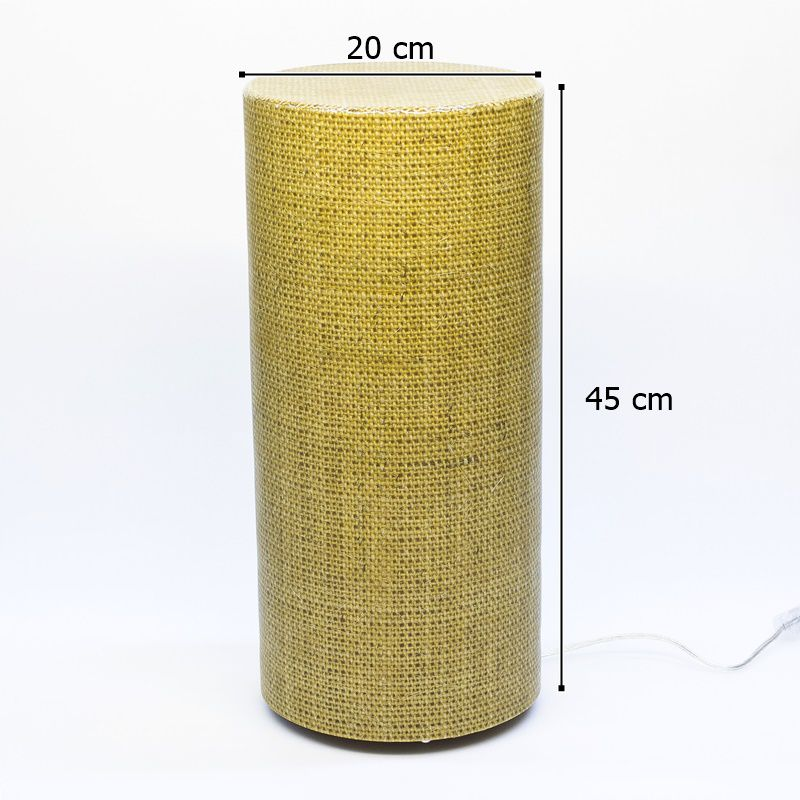 Luminária de Mesa ou Piso Standard Natural Fechada