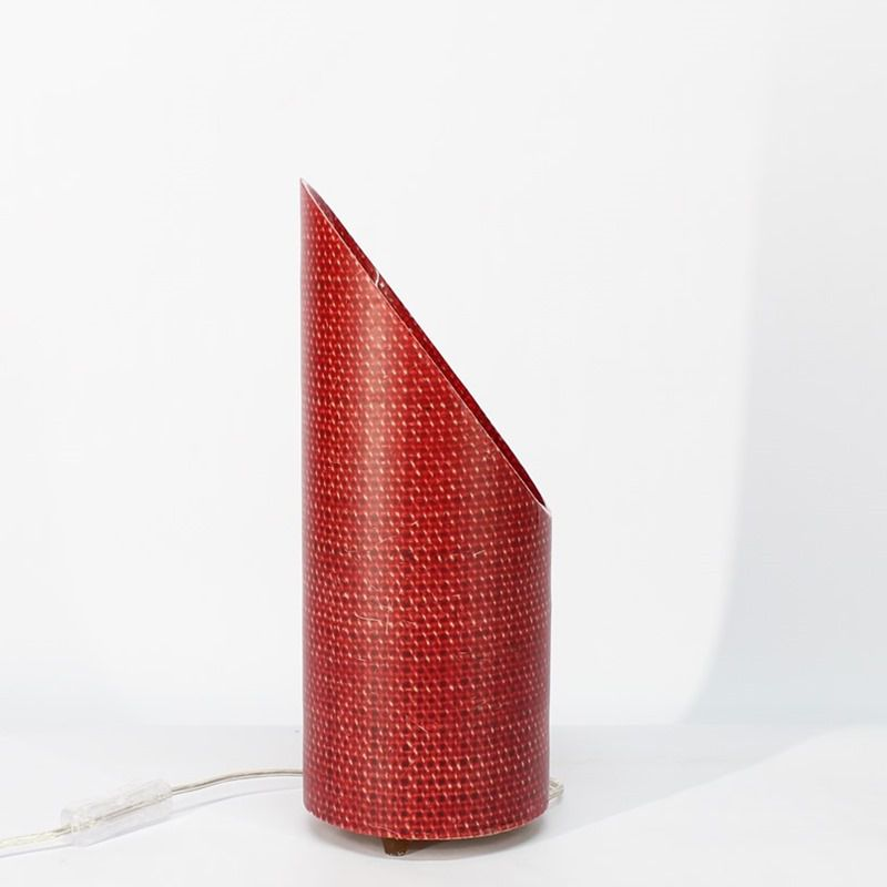 Luminária de Mesa Petit Oblique Vermelha