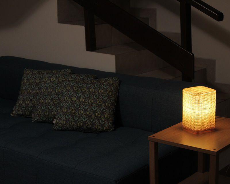 Luminária de Mesa Piazzeta Natural