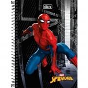 Caderno Médio 1/4 80 Folhas Tilibra - Spider-Man Homem Aranha