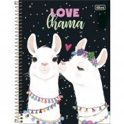 Caderno Universitário 80 Folhas Tilibra - Lhama Hello!