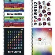 Caderno Universitário Now United 1 Matéria Tilibra