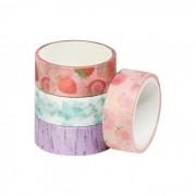 Fita Adesiva Decorativa Washi Tape Com Cheirinho BRW