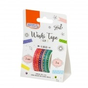 Fita Adesiva Decorativa Washi Tape Slim 8 unidades BRW
