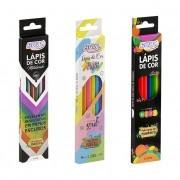 Lápis de Cor BRW - Pastel Neon Metálico