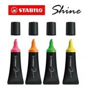 Marca Texto Stabilo Shine - 4 Cores