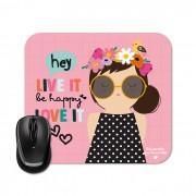 Mouse Pad - Happy Hey