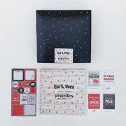Kit Scrap Álbum Cartões Gigantes - Eu & Você Juntos Somos Perfeitos