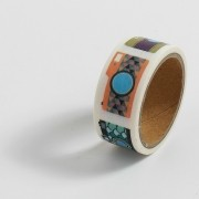 Fita Adesiva Decorativa Washi Tape - Camera