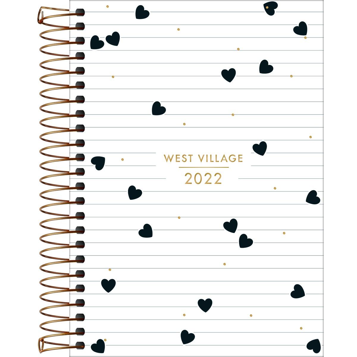 Agenda Espiral 2022 West Village Tilibra