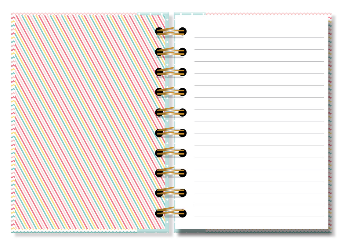 Caderneta Fina Ideia - Várias Estampas