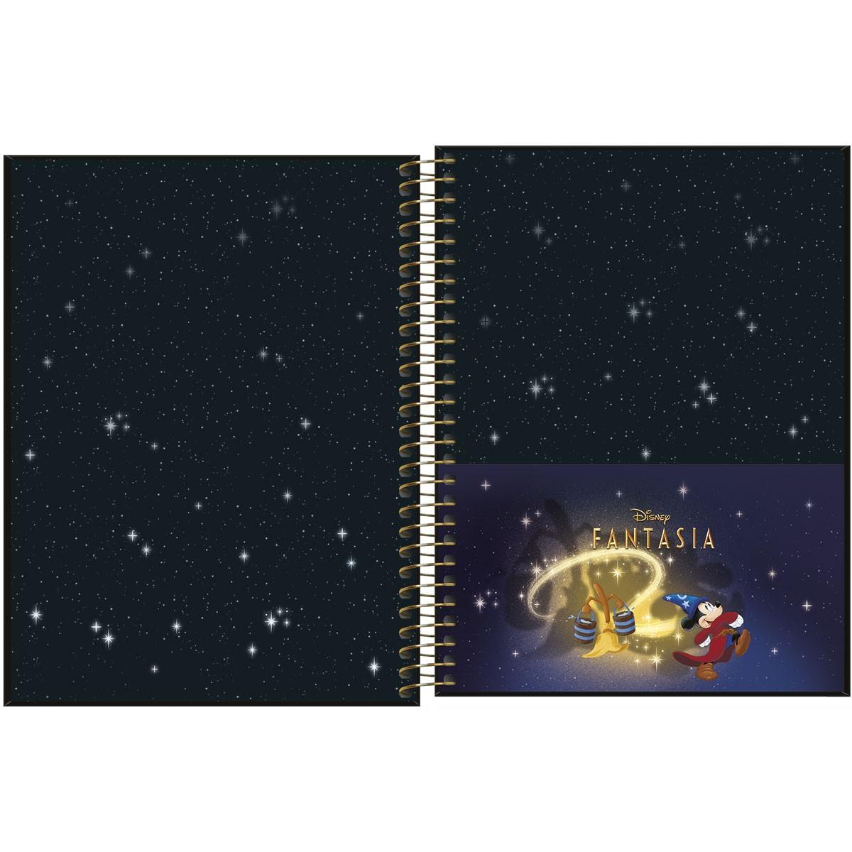 Caderno Colegial 80 Folhas Tilibra - Mickey 80 Anos