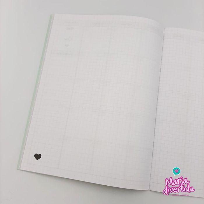 Caderno Planner Mensal - Várias Estampas