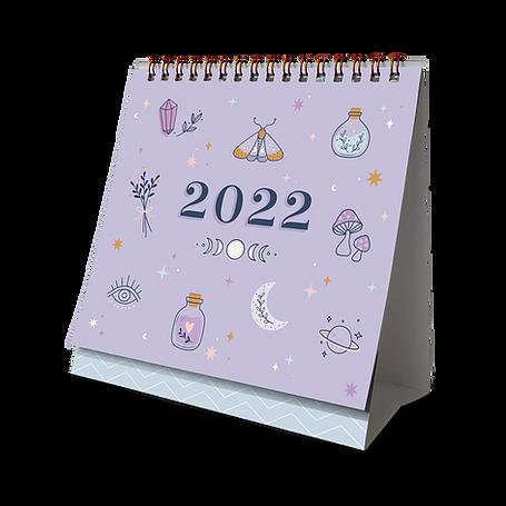 Calendário de Mesa 2022 CG - Várias Estampas