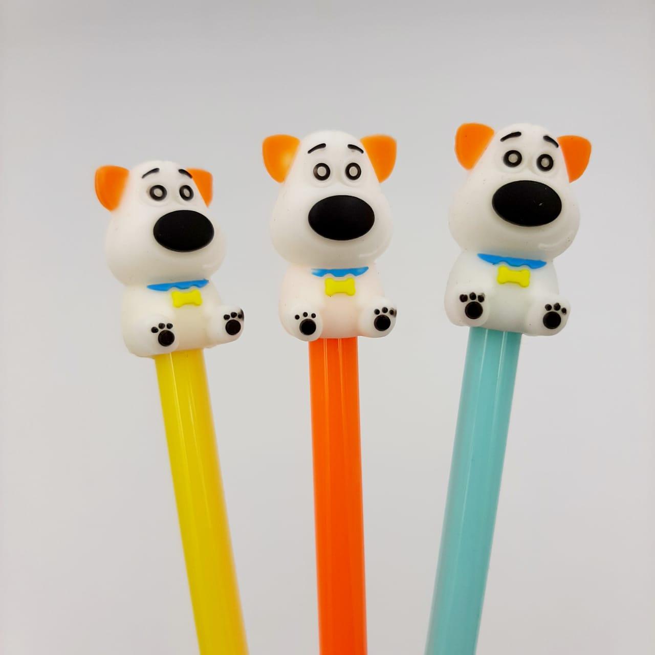 Caneta Gel - Cachorro Max Pets
