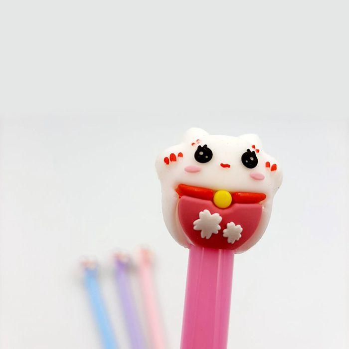 Caneta Gel - Maneki Gato da Sorte