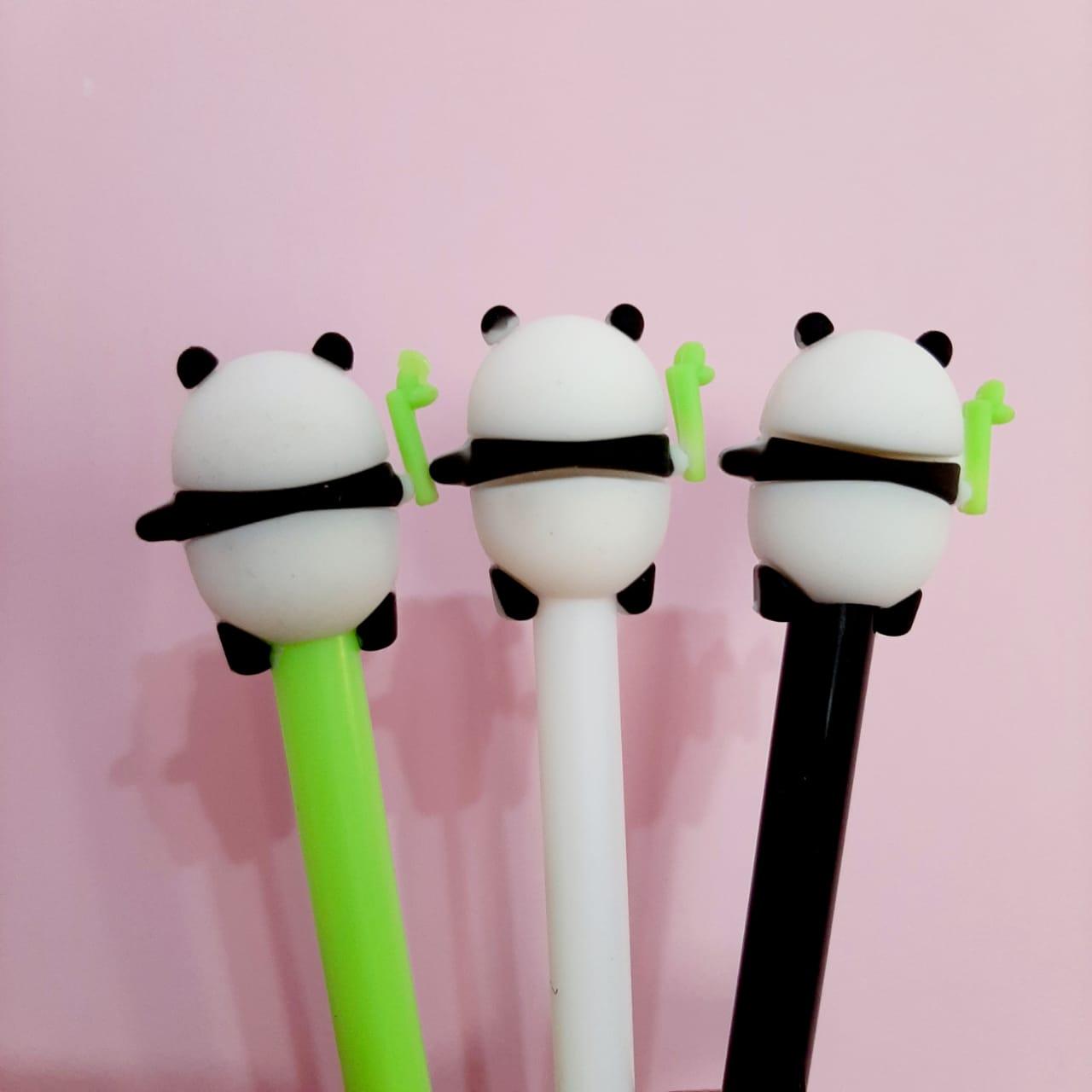 Caneta Gel - Panda Fofo