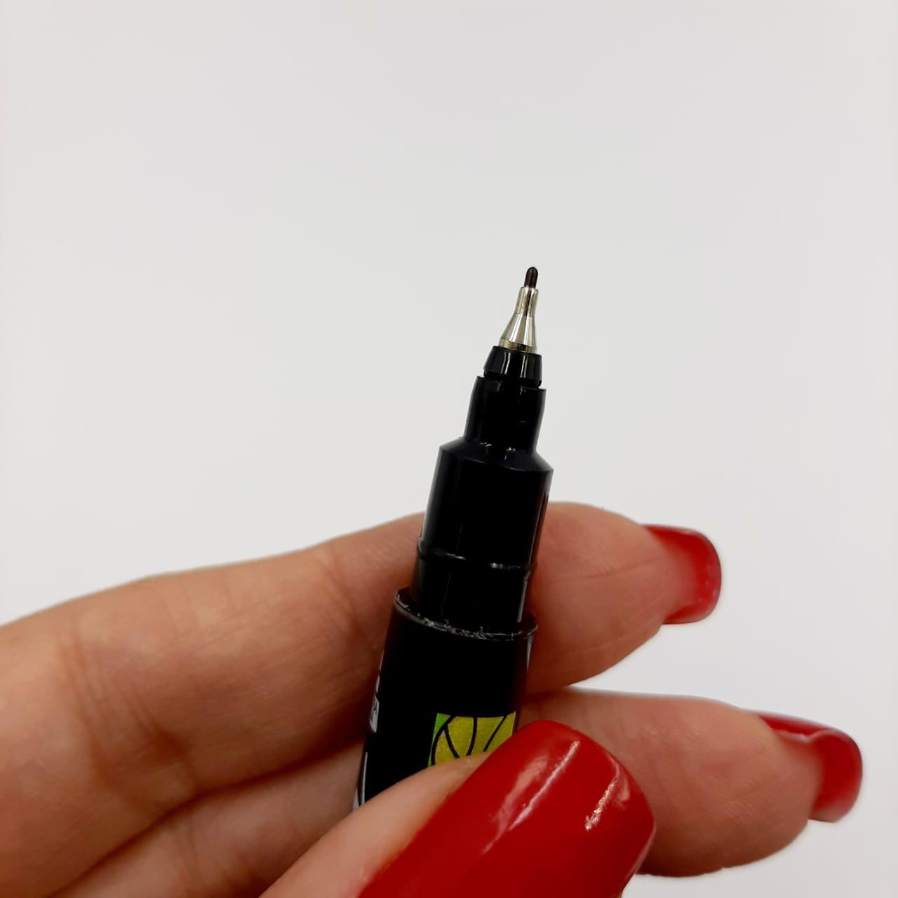 Caneta Permanente Duas Pontas Molin