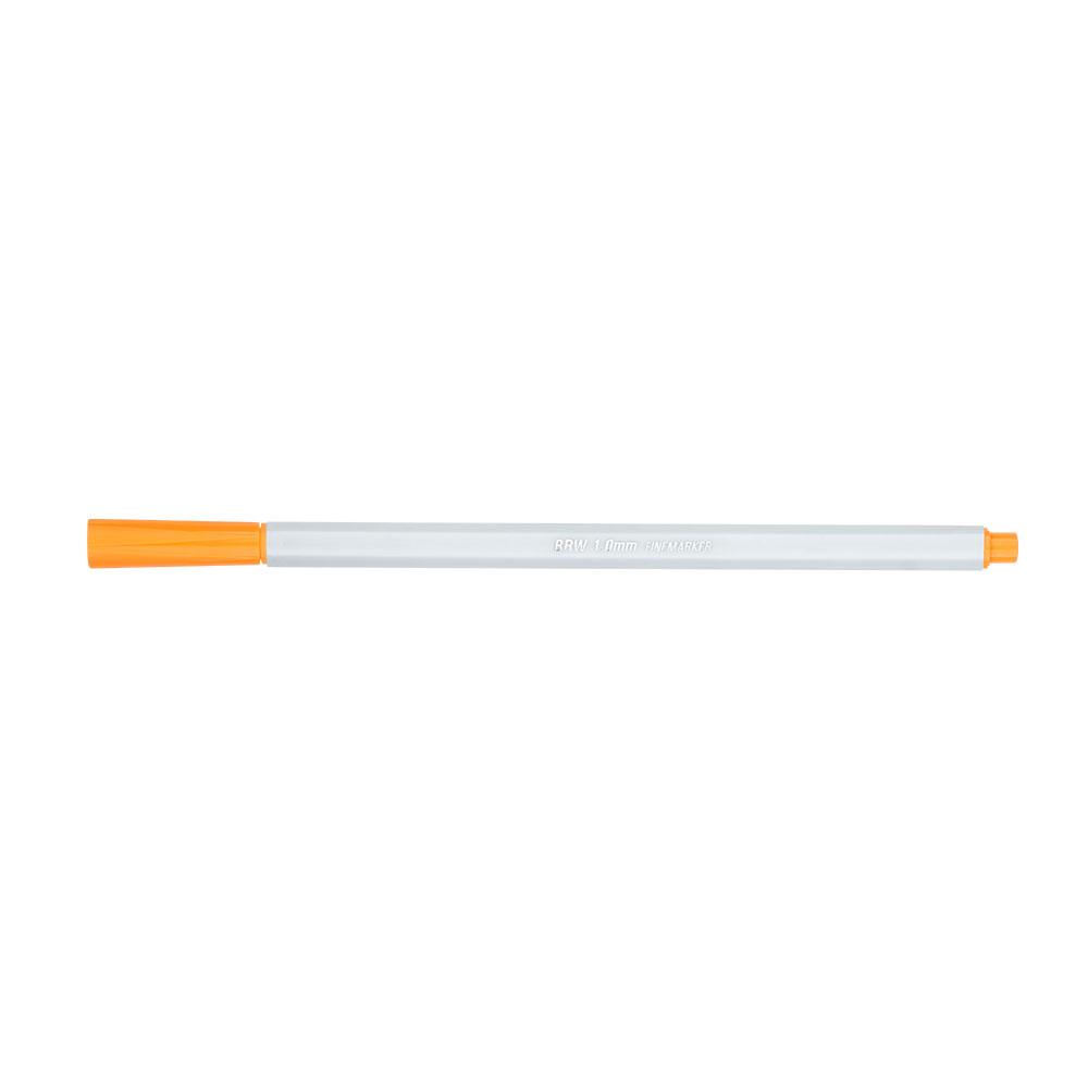 Canetinha Hidrográfica Fine Marker 1.0mm 6 Cores Pastel BRW