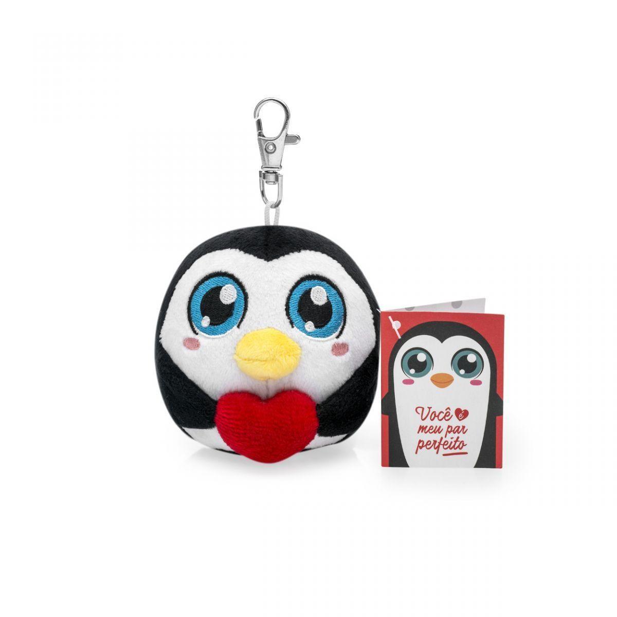 Chaveiro Pompet - Pinguino