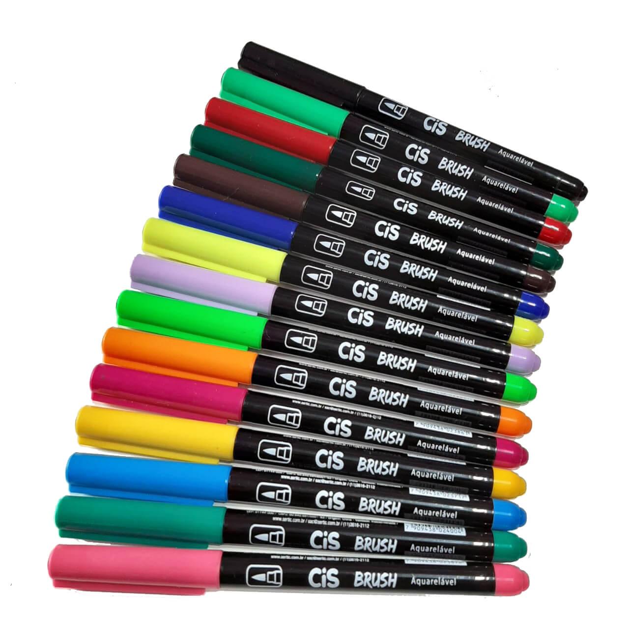 Cis Brush Pen Aquarelável Unitária