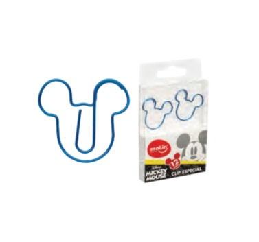 Clips Molin - Mickey Azul 12un