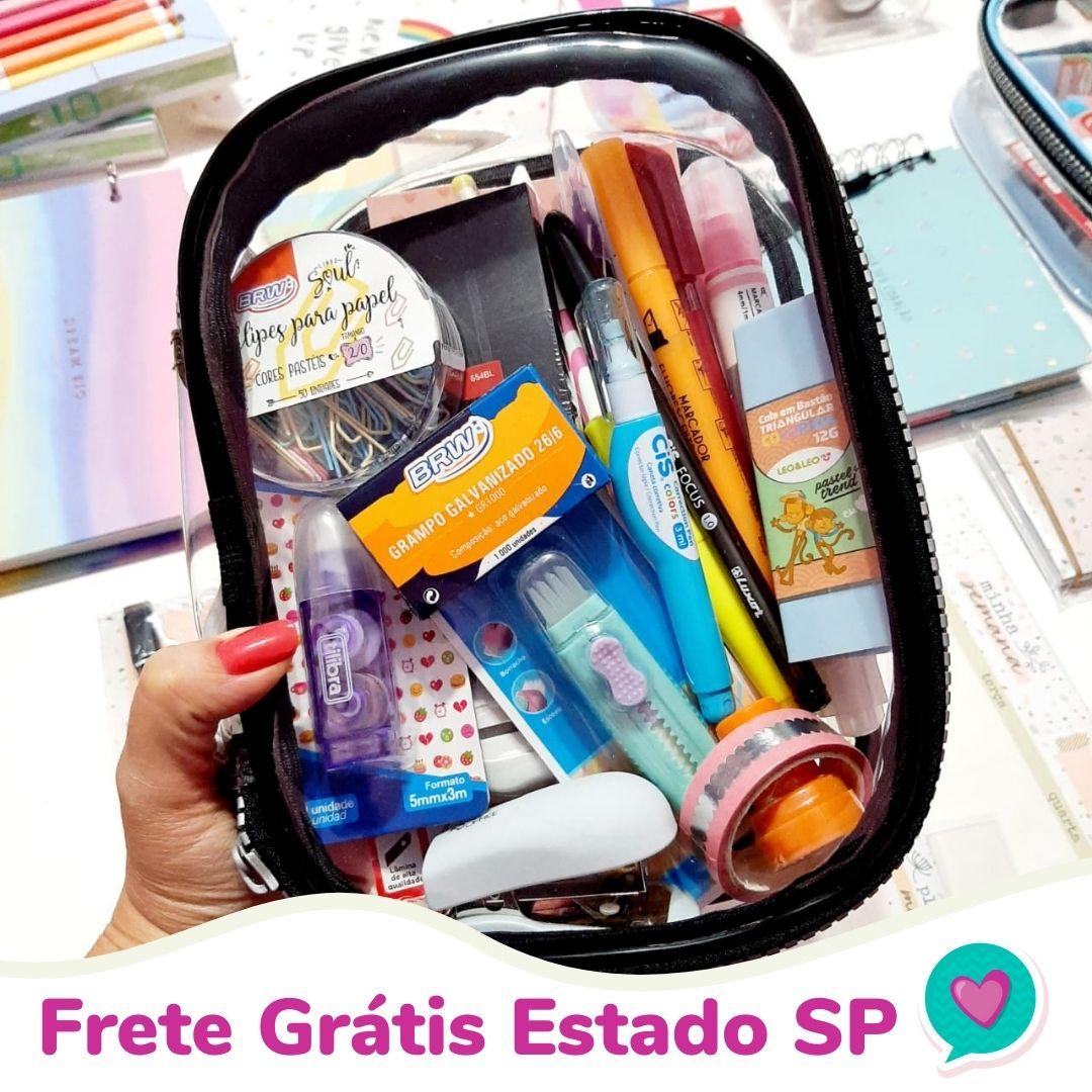 Estojo Completo 28 Itens + Frete Grátis SP